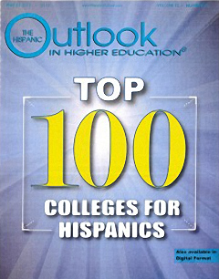 Cover of The Hispanic Outlook In Higher Education.