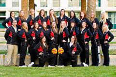 2012 CSUN Women's Water Polo Team
