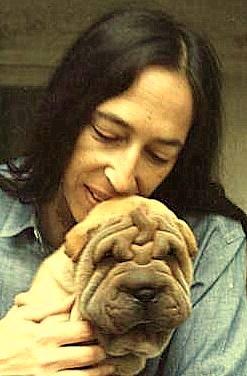 Linda Dozoretz and her dog Sweetie.
