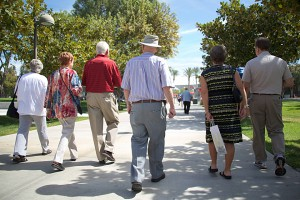 Alumni Stroll Along Cleary Walk