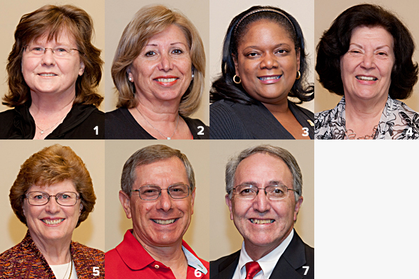 Volunteer Service Awards' Alumni Chapter Recipients
