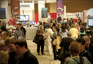 Attendees at the 2011 conference.