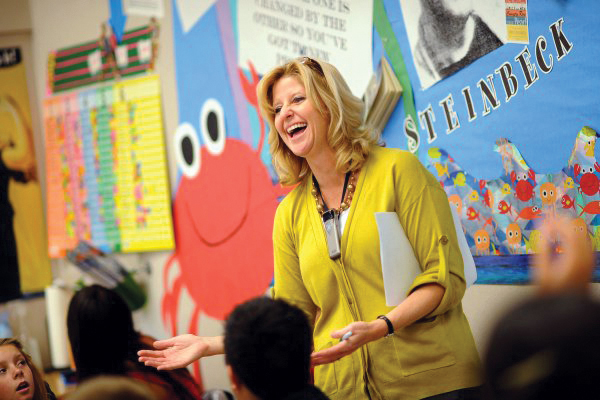 Rebecca Mieliwocki '96 (Teaching Credential), 2012 National Teacher of the Year.