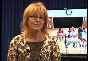 Sally A. Spencer, an associate professor in the Department of Special Education, talks about TeachLIvE.