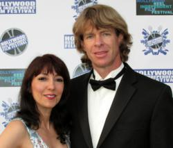 Luciana Lagana and her husband, actor Gregory Graham.