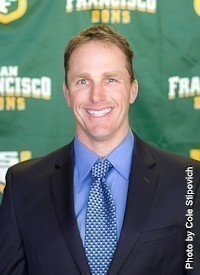 New Matadors baseball head coach Greg Moore. Photo courtesy of USF Athletics.
